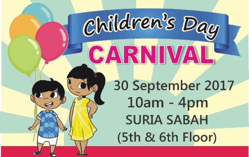 World Childrens' Day at Suria Sabah